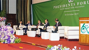 President Masu attends 60th anniversary celebration of AIT and Presidents Forum