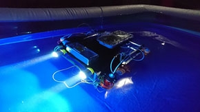 Tokyo Tech third in JAMSTEC underwater robot competition