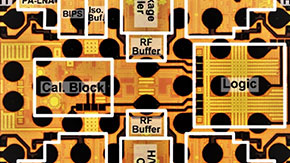 Researchers develop a compact 28-GHz transceiver supporting dual-polarized MIMO