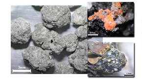Analysis of the weathering of solid waste incineration ash evaluated by indices for natural rock