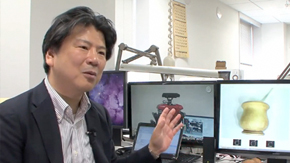 "Research conducted by Osamu Hasegawa Laboratory introduced in ""DigInfo TV"""