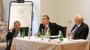 President Mishima at the Global University Summit