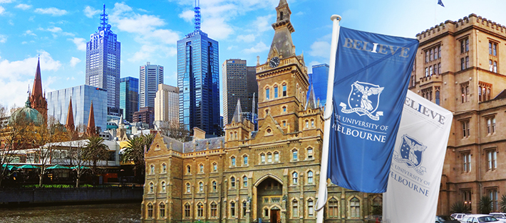 Partner universities: The University of Melbourne