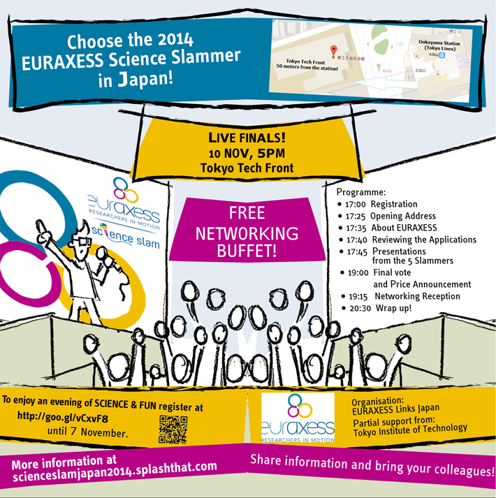 EURAXESS Science Slam Japan 2014