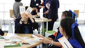 高大連携授業、タイと日本の高校生による「2進法ワークショップ」を開催