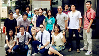 Students and Faculty of King Mongkut's University of Technology Thonburi Visit Tokyo Tech