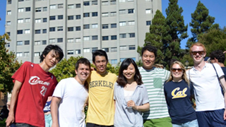 A new research life at California (University of California, Berkeley)