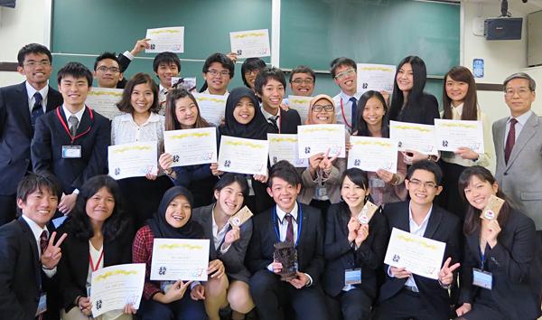 国際交流プログラム「5th ASCENT」に参加した学生・教職員