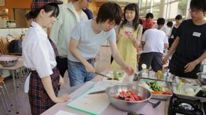 すずかけ台キャンパスにて第12回料理教室開催