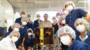 東工大の学生が開発した超小型人工衛星