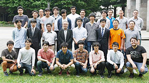 TBSテレビ「未来の起源」に鈴森・遠藤研究室の学生が出演