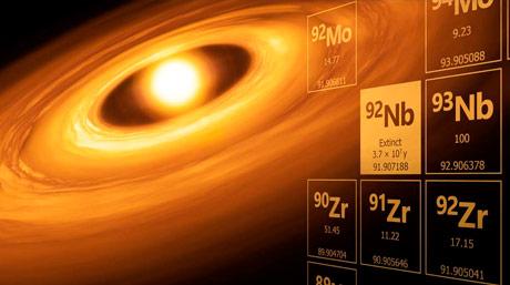 消滅核種ニオブ92の太陽系初生存在度の決定
