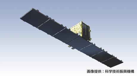 日本初の画像取得に成功した小型SAR衛星