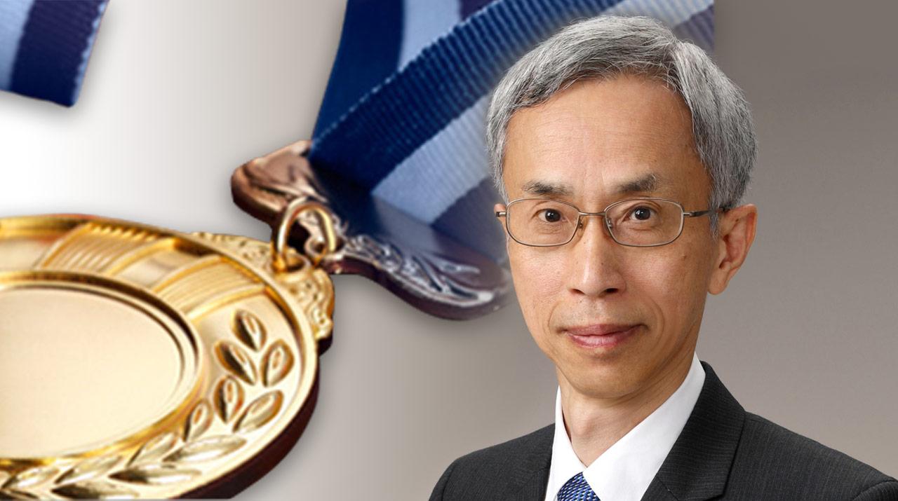 西森秀稔名誉教授が紫綬褒章を受章