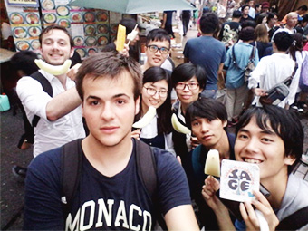 Tokyo Orienteering with SAGE, Student Association for Global Exchange.
