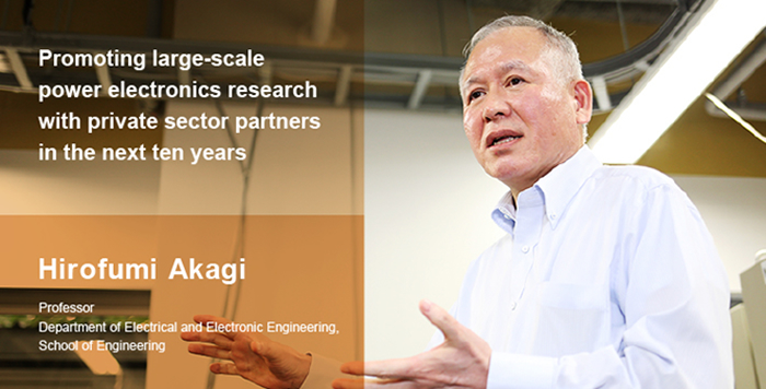 Hirofumi Akagi - Power electronics, real solutions to global environmental and energy issues