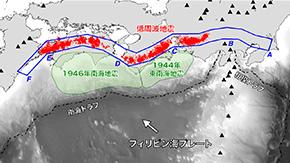プレート境界からの「水漏れ」が深部低周波地震を抑制?