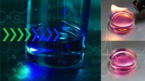 未利用光を利用可能な波長に変換する新しい材料プラットフォームを開発