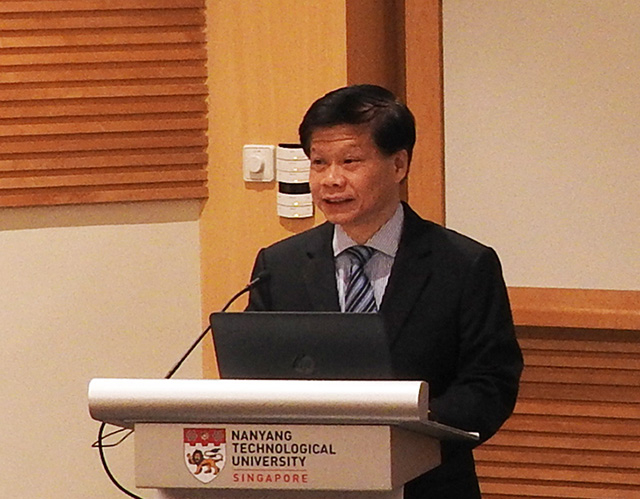 NTU Chief of Staff and Vice President (Research) Lam