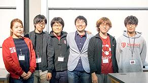 本学学生がスタンフォード大学で開催された健康医療分野の開発コンテストで3位入賞