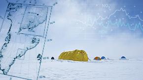 北極の硝酸エアロゾルはNOx排出抑制に関わらず高止まり