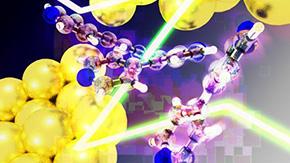 金属と分子の結合形成過程を分子レベルで解明
