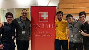 本学学生がスタンフォード大学で開催された健康医療分野の開発コンテストで2位入賞
