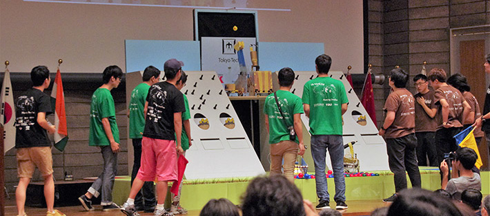 Tokyo Tech hosts 2018 Robocon International Design Contest