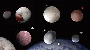 冥王星を含む太陽系外縁天体の衛星、太陽系初期の巨大天体衝突で形成された可能性