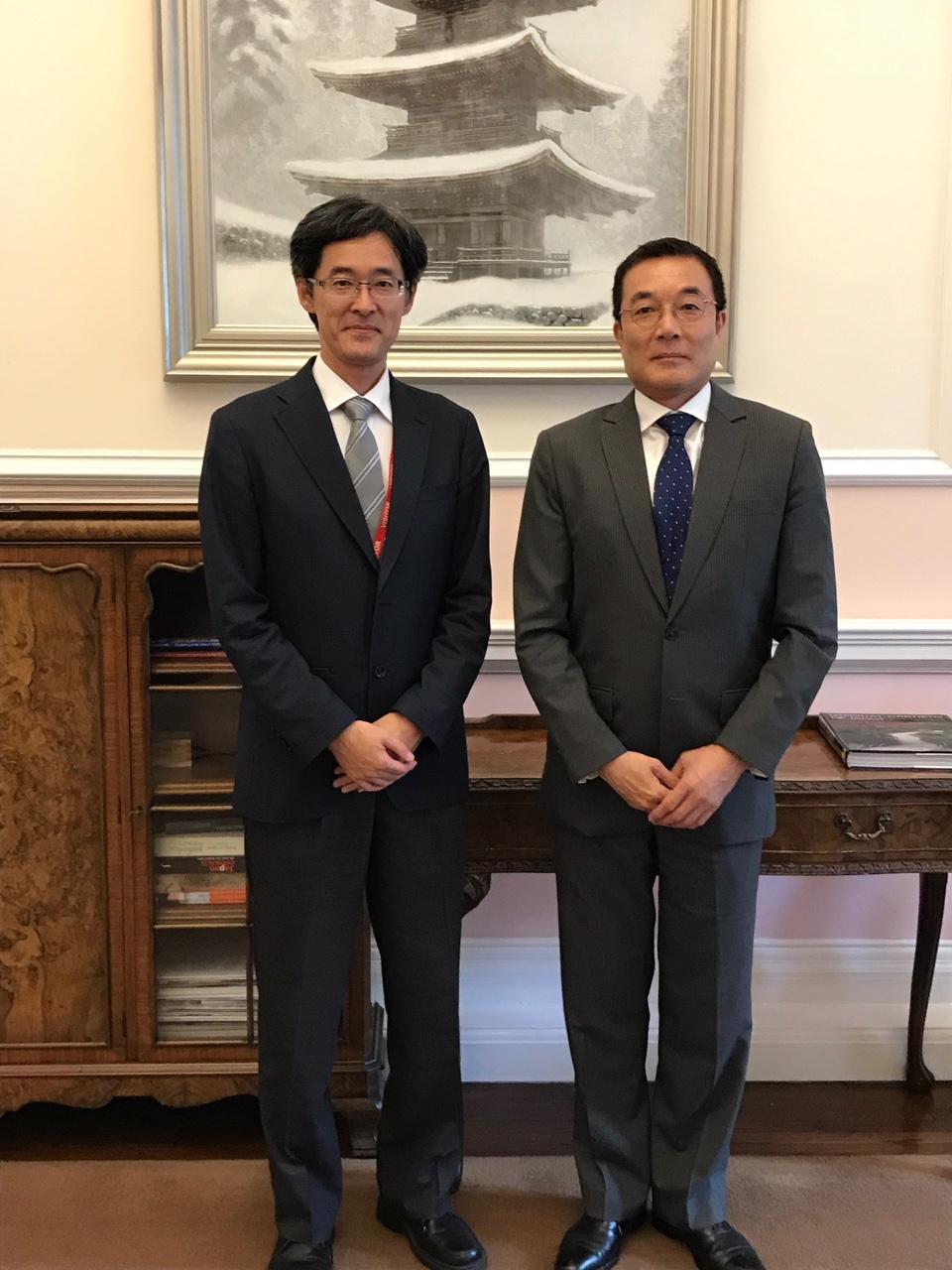 井村副学長が在英日本大使館を訪問 インペリアル・カレッジ・ロンドン ...