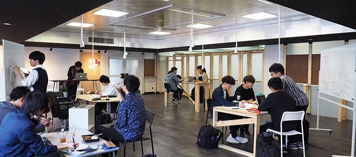 Attic Lab now open - Students design new co-creation space born on Ookayama Campus
