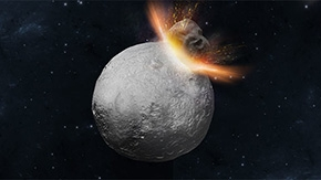 Uncovering the hidden history of a giant asteroid
