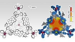 ナノサイズの「異空間」をもつ新物質