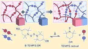 異なる架橋高分子材料を接着する新手法を開発