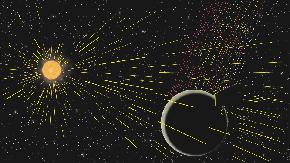 宇宙空間に流出する月の炭素を初観測